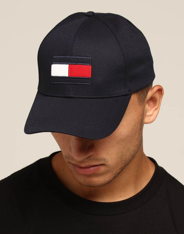734839d966c80 Tommy Jeans Big Flag Cap Navy – Culture Kings