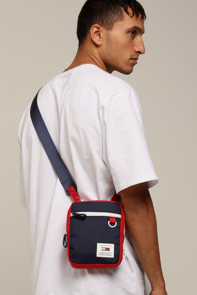 Tommy Jeans TJM Urban Tech Reporter Navy/Red/White