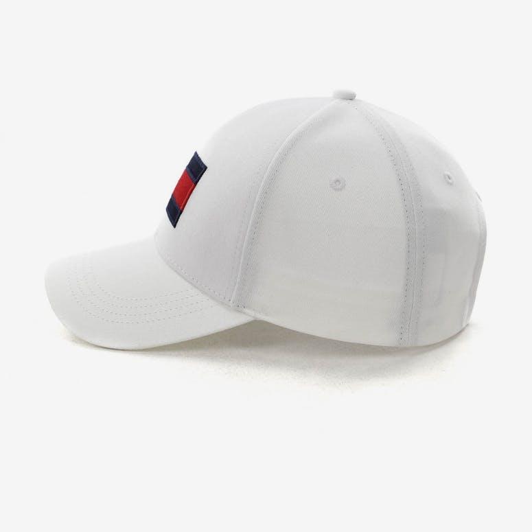3c9e2d8a439 Tommy Jeans Big Flag Cap White