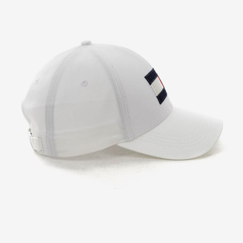 a216c9ee492 Tommy Jeans Big Flag Cap White – Culture Kings