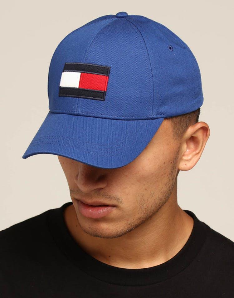 c40d16954 Tommy Jeans Big Flag Cap Blue