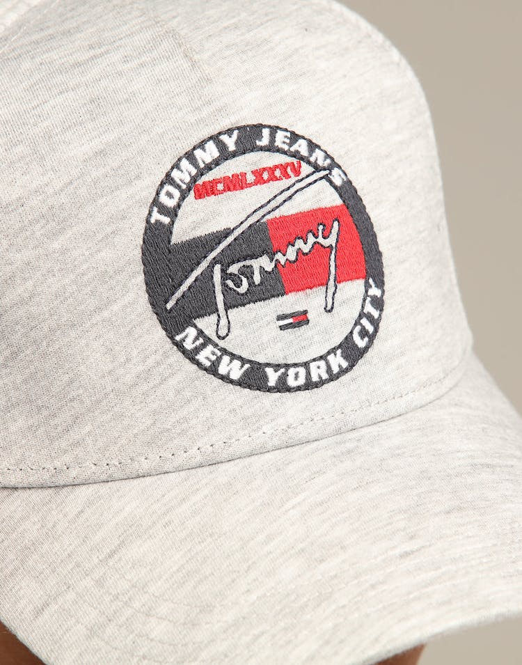d7da9e8c Tommy Jeans TJM Heritage Embroidery Cap Grey – Culture Kings