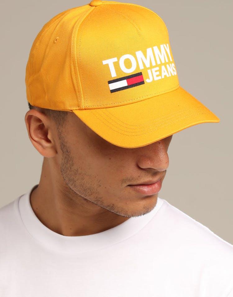 9b28bc31 Tommy Jeans TJM Flock Cap Yellow – Culture Kings