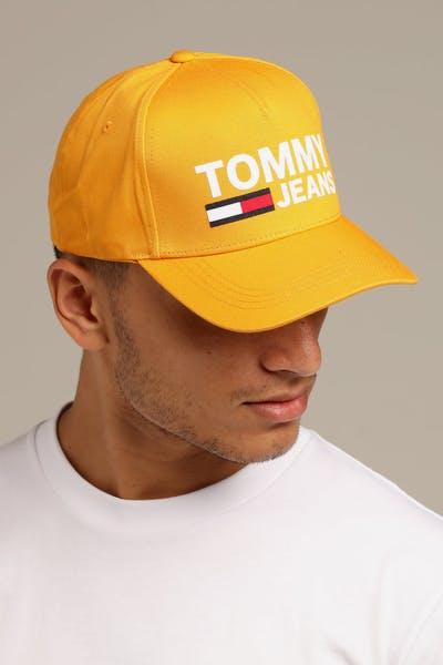 19d55fd40d28 Tommy Jeans TJM Flock Cap Yellow