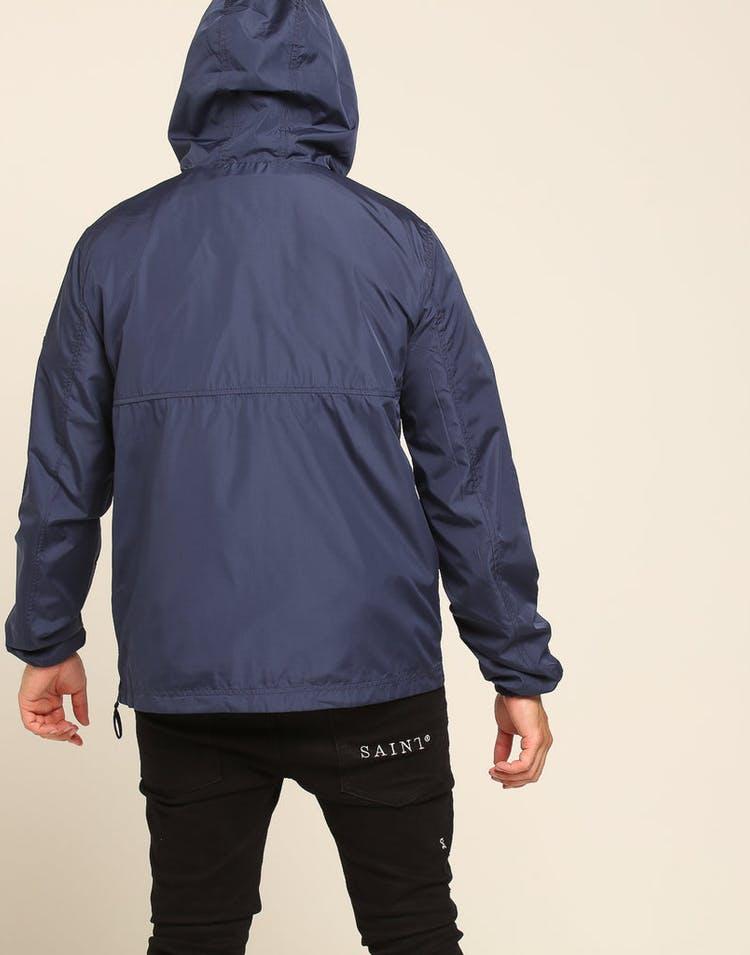 33369b033 Tommy Jeans TJM Nylon Shell Solid Popover Black Iris – Culture Kings