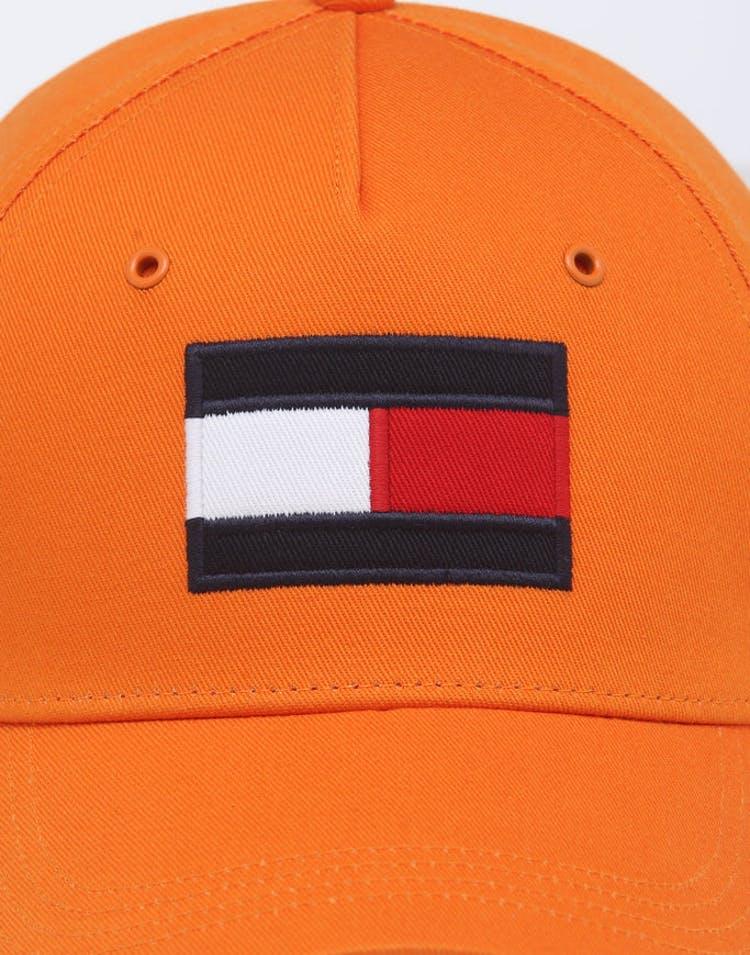 Tommy Jeans Big Flag Cap Orange Rust