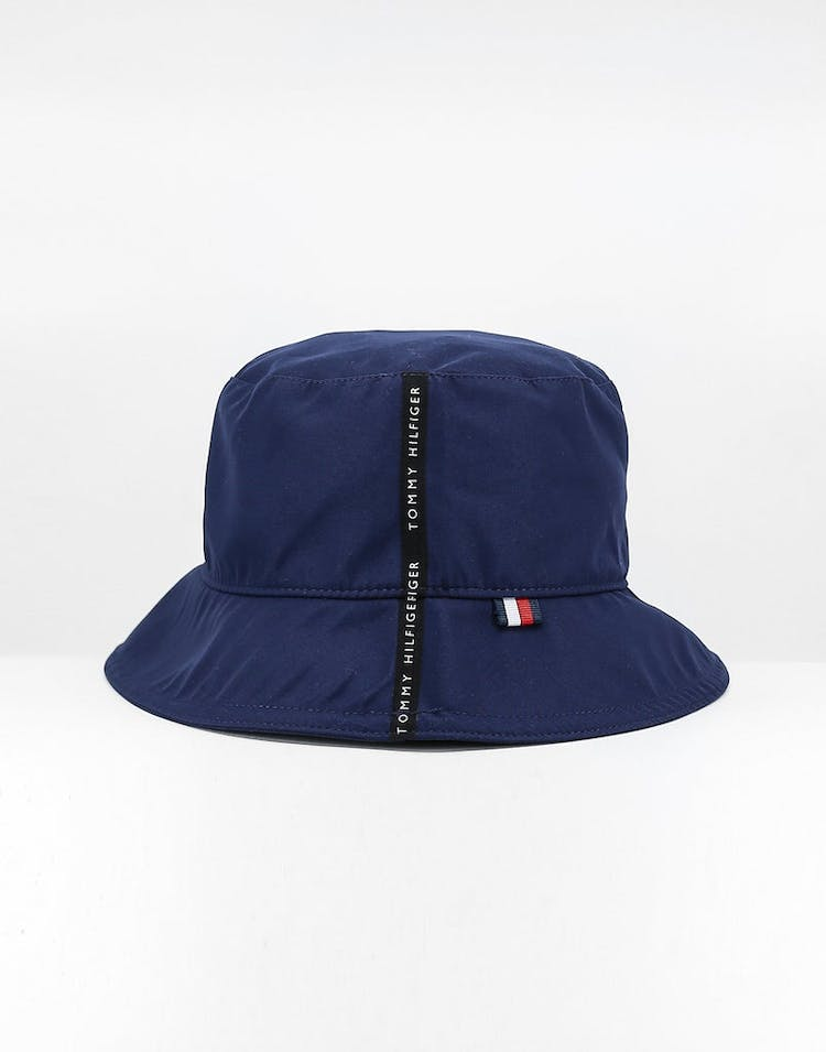 7be5a67f Tommy Jeans Tape Bucket Hat Blue Quartz