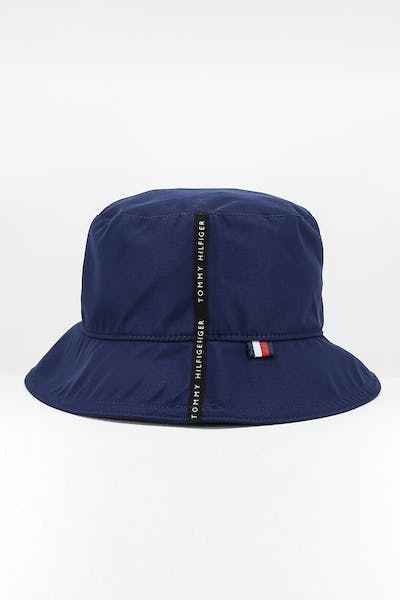 Tommy Jeans Tape Bucket Hat Blue Quartz
