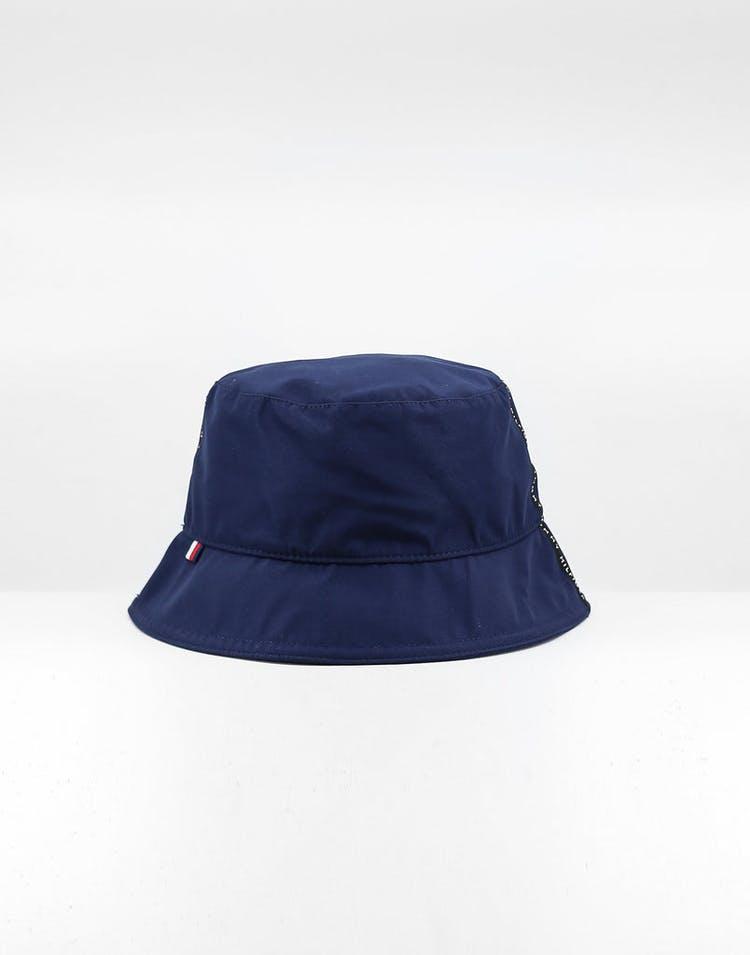 58cd05472 Tommy Jeans Tape Bucket Hat Blue Quartz