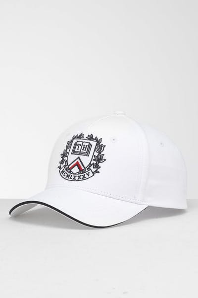 quality design eba08 30bd3 Tommy Jeans Badge Strapback Cap Bright White ...