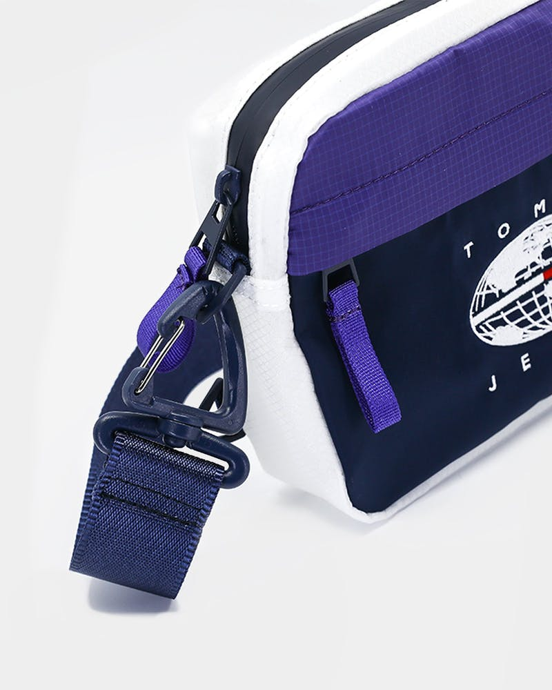 Tommy Jeans TJM Expedition Crossover Bag Royal Purple/Black