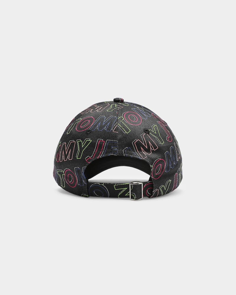 Tommy Jeans TJW Sport Print Cap Multi-Coloured/Blue