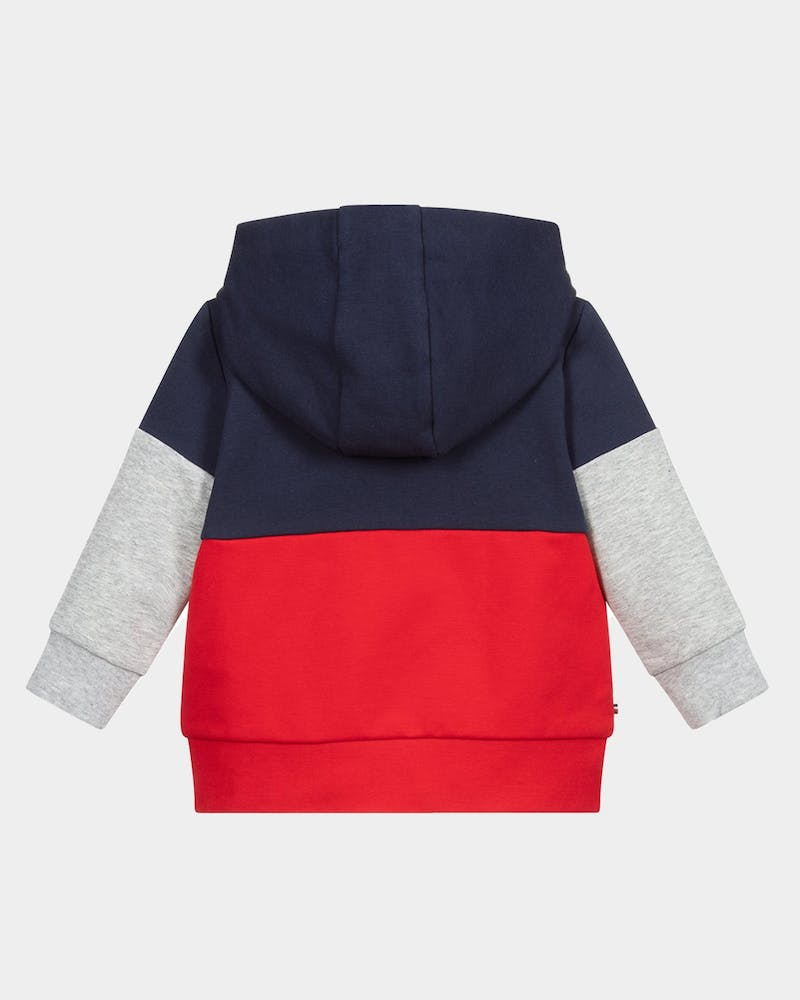 Tommy Jeans Infant Baby Colourblock Hoodie Set Twilight Navy/Red