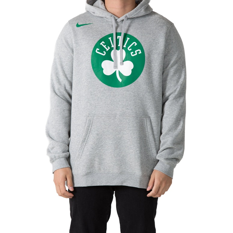 0fc4a00a ... Boston Celtics Nike Fleece Hoodie Grey Heather ...