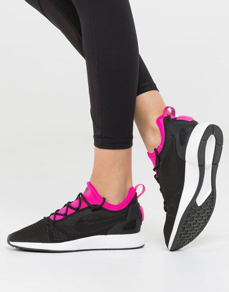 6ce4134d04e8 Nike Women s Duel Racer Black Pink White