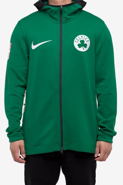 afcab5d0388 Boston Celtics Nike Therma Flex Showtime Hood Green White