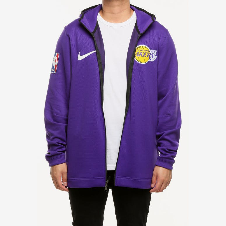 Los Angeles Lakers Nike Therma Flex Showtime Hood Purple Black White – Culture  Kings 468a789ef