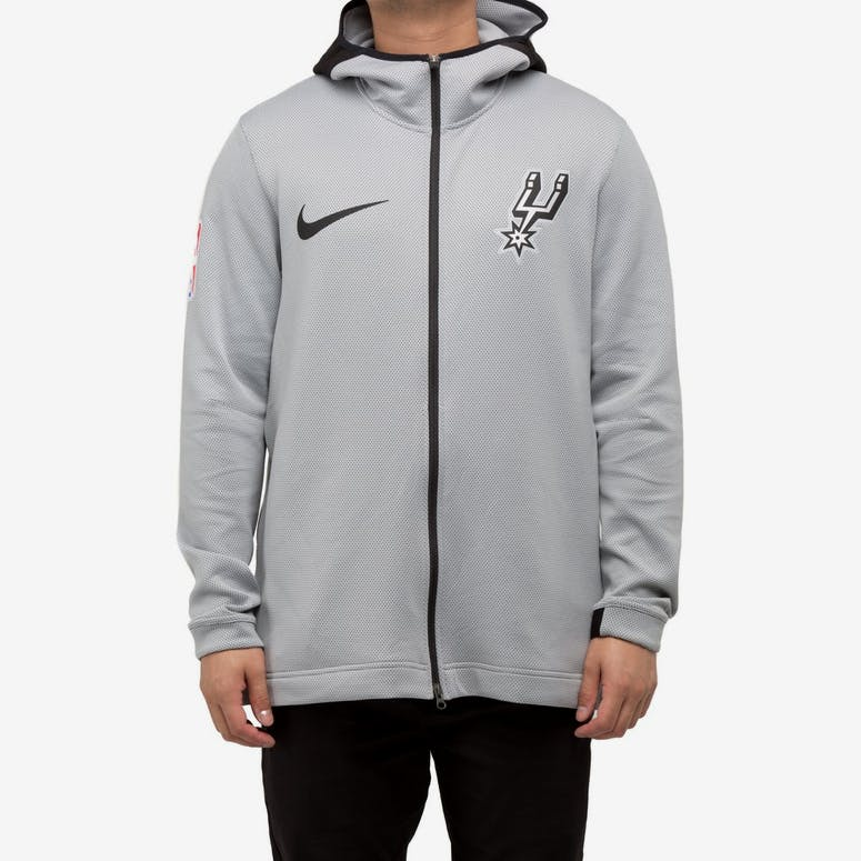 San Antonio Spurs Nike Therma Flex Showtime Hood Silver Black Black –  Culture Kings a4aa1d730