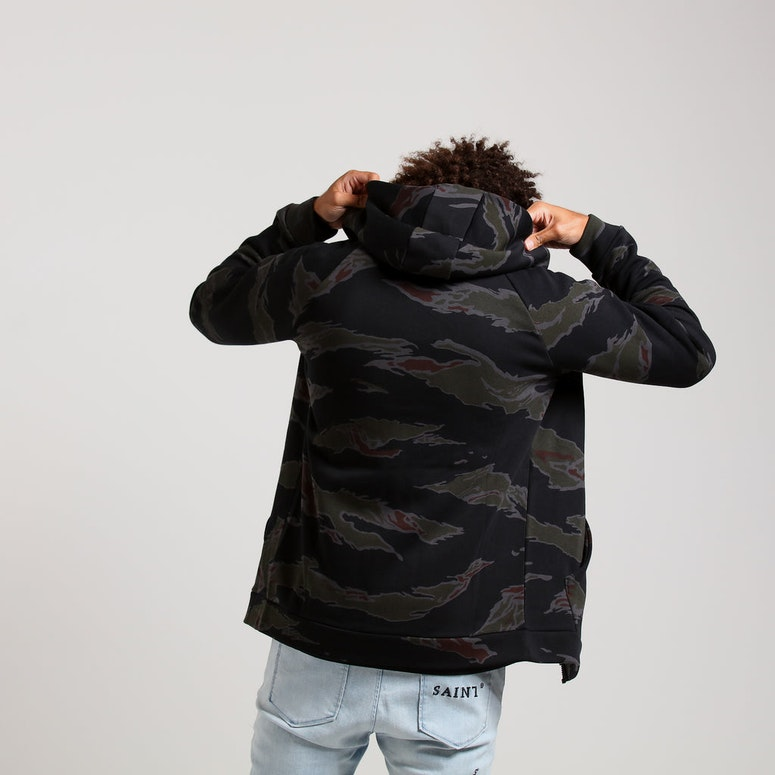 Jordan Jumpman Fleece Camo Full Zip Hood