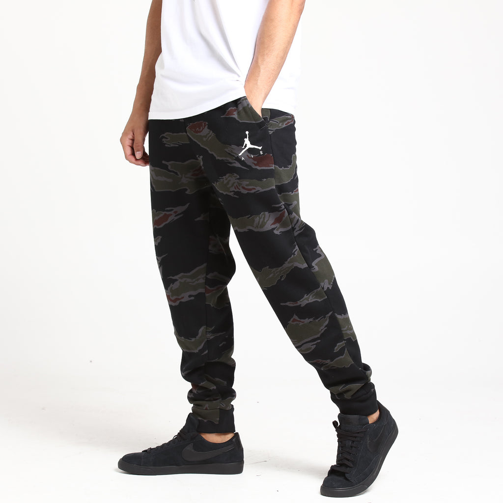 Jordan Jumpman Fleece Camo Pant Black