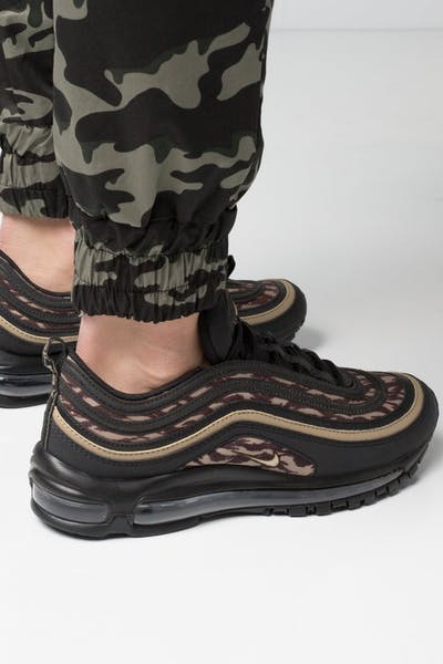 the latest 6bb9e e1320 Nike Air Max 97 AOP Black Khaki Brown