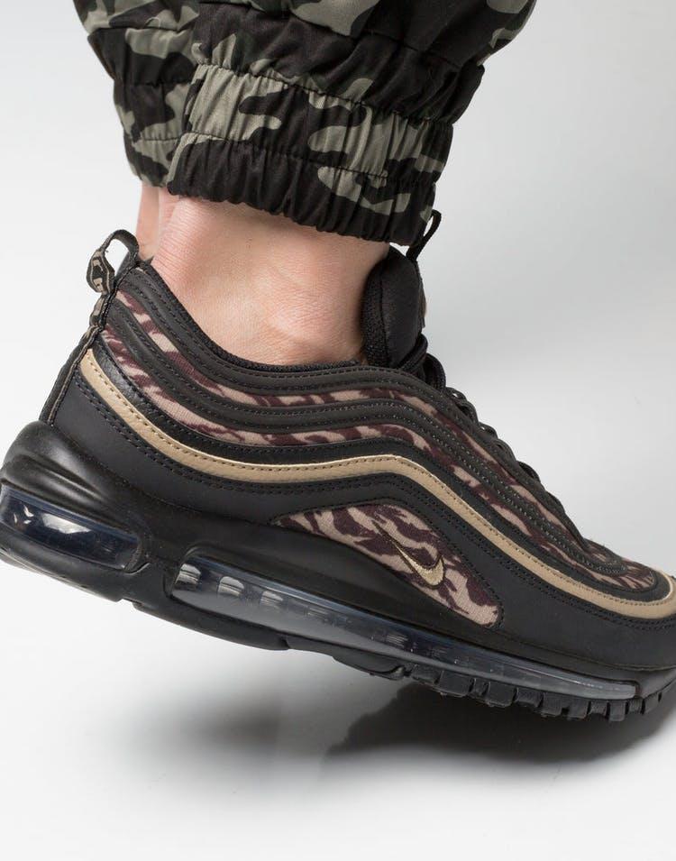the latest 995f8 23874 Nike Air Max 97 AOP Black Khaki Brown