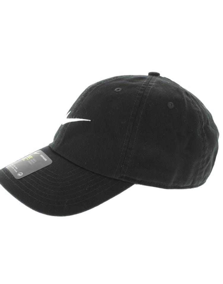 d8137ebca Nike Heritage 86 Swoosh Strapback Black/White