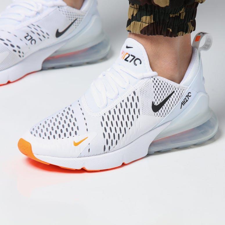 the best attitude 342b1 09253 Nike Air Max 270 WhiteBlackOrange – Culture Kings