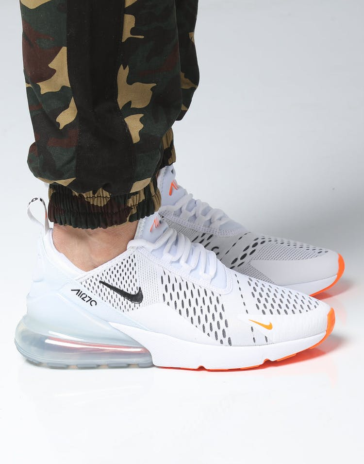 f3ee4a457f Nike Air Max 270 White/Black/Orange – Culture Kings