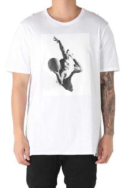 Jordan Flight Heritage Tee White