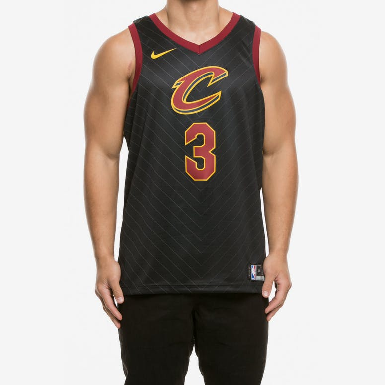 c1dc4393a Nike Cleveland Cavaliers  3 Isaiah Thomas Alternate Swingman Jersey Bl –  Culture Kings
