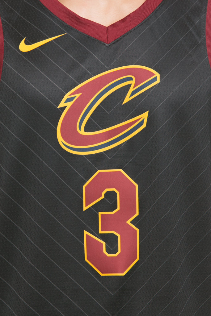 ... germany nike cleveland cavaliers 3 isaiah thomas alternate swingman  jersey black red gold d4cec 93d0d 94242c181