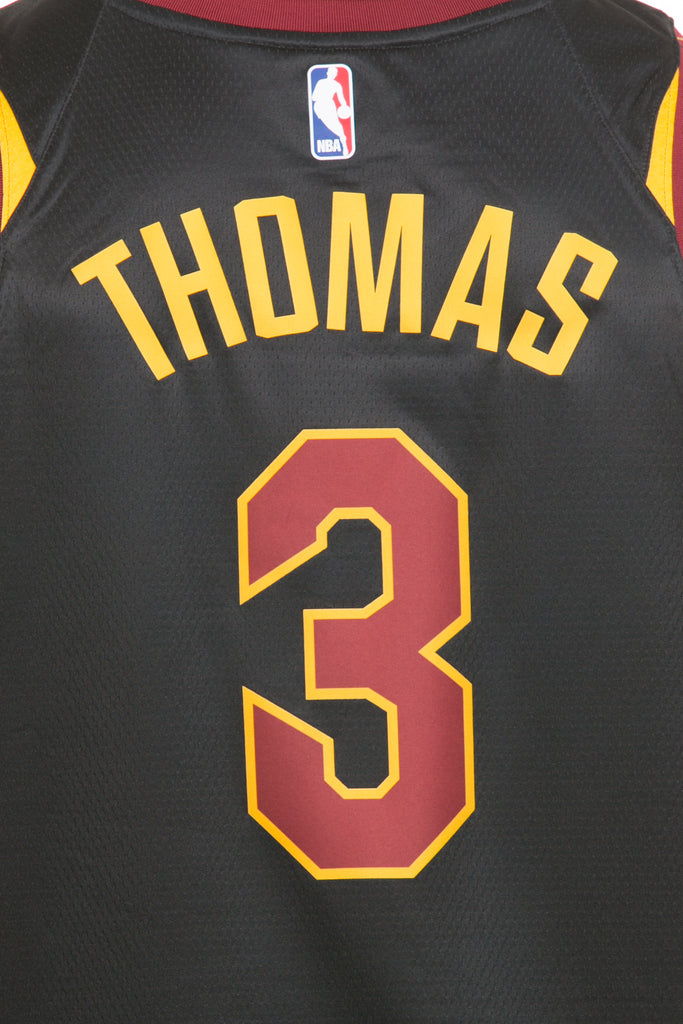 d0d88beffbe ... germany nike cleveland cavaliers 3 isaiah thomas alternate swingman jersey  black red gold e27a8 0d74d