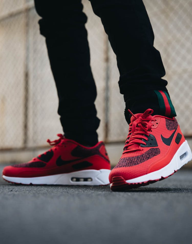 sold worldwide online shop where to buy Nike Air Max 90 Ultra 2.0 Essential Red/Black/White