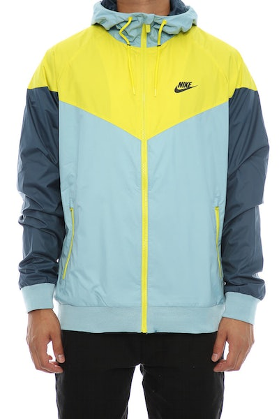 Nike Windrunner Jacket Blue/Yellow