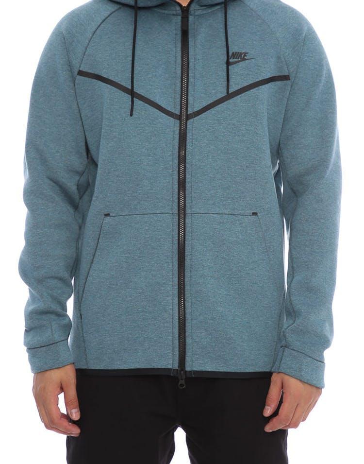 a066ea00bdc9 Nike Tech Fleece Windrunner Hood Dark Blue Black – Culture Kings