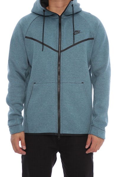 Nike Tech Fleece Windrunner Hood Dark Blue/Black