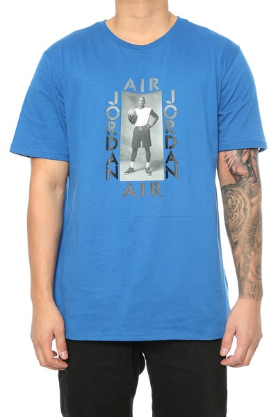 Air Jordan Photo Tee Royal/Black