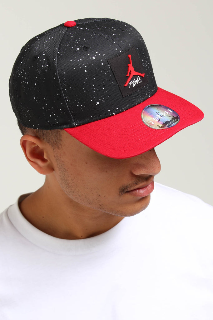 e495becd553bb9 ... amazon jordan pro aop snapback black red c29aa dfeb6