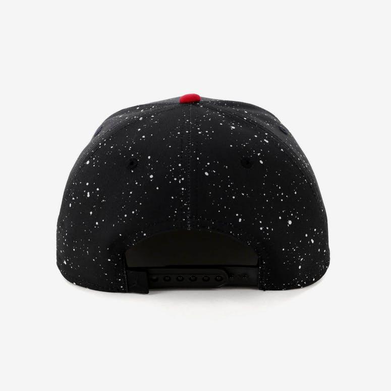 Jordan Pro AOP Snapback Black Red a0b2274b170