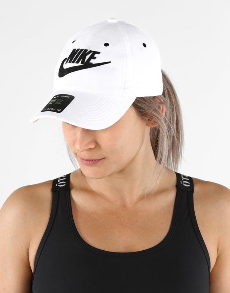 3c14e1cb4f1 Nike Women s Heritage 86 Cap White Black – Culture Kings