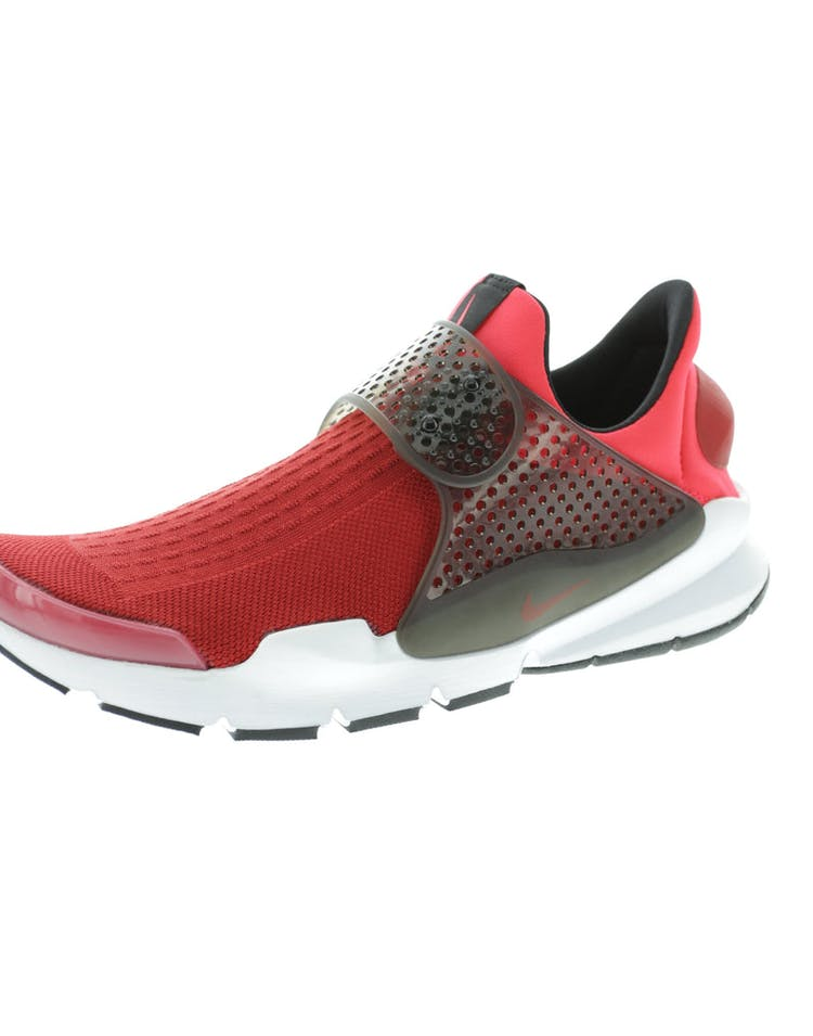 55777b45b54f Nike Sock Dart KJCRD Red Black White