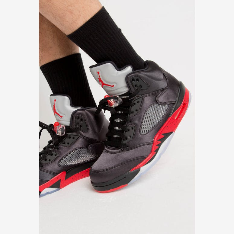 6e7b46ee1902ea Air Jordan 5 Retro Black Red – Culture Kings