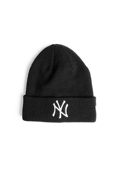 New Era Yankees Ribbed Beanie Black
