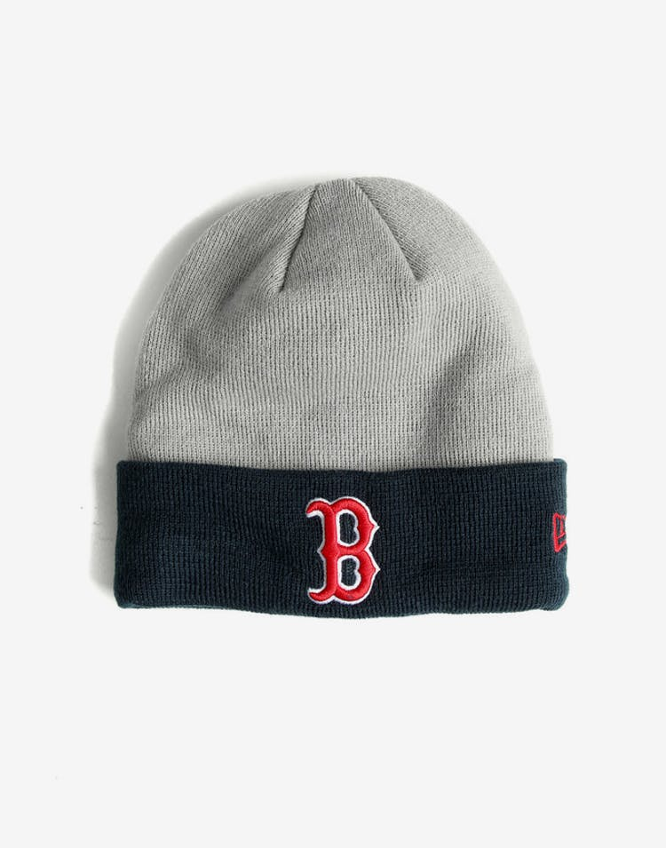 053f733b0b3 New Era Red Sox Cuff Beanie Grey Navy – Culture Kings