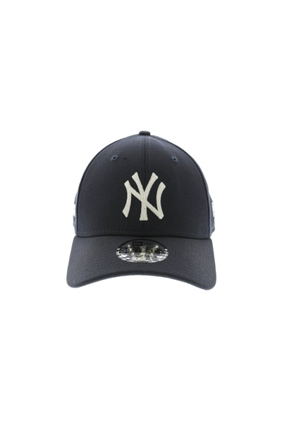 New Era Yankees Chain Stitch 3930 Stretch Fitted Navy