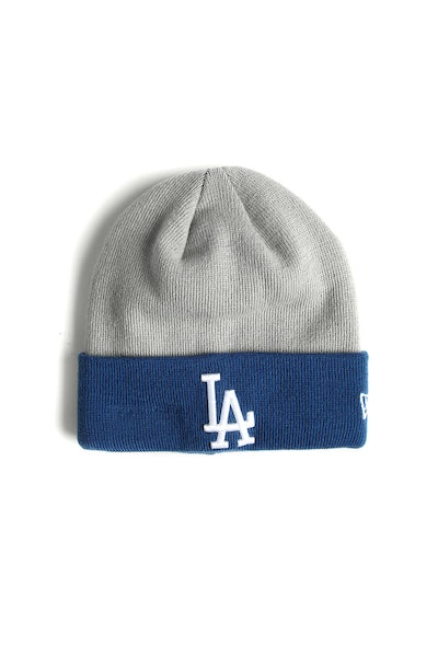 New Era Dodgers Cuff Beanie Grey/Royal