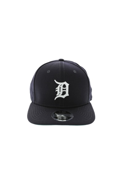 New Era Tigers 950 Precurve Original Fit Snapback Navy/White