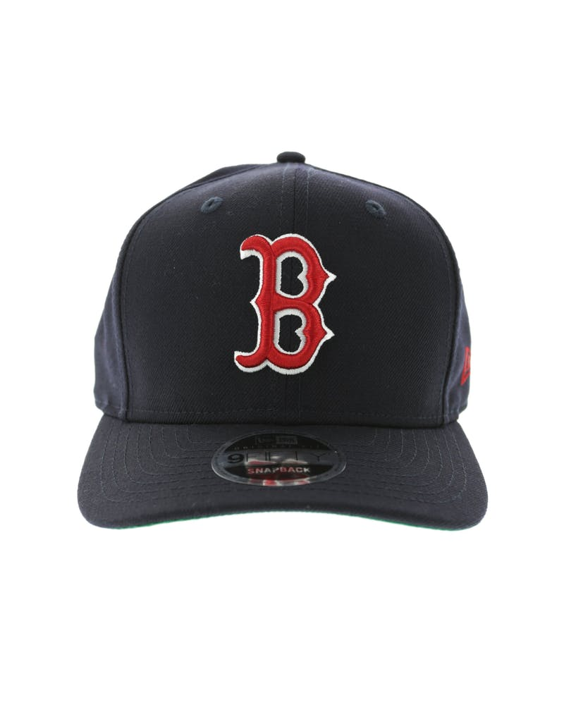 New Era Red Sox 9FIFTY Precurve Original Fit Snapback Navy/Red