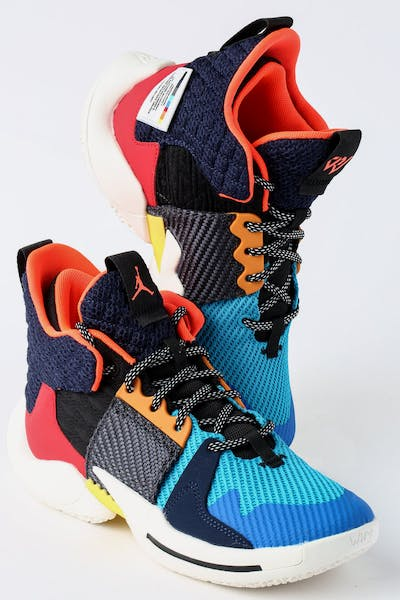 Jordan Why Not Zer0.2 (GS) Multi-Coloured